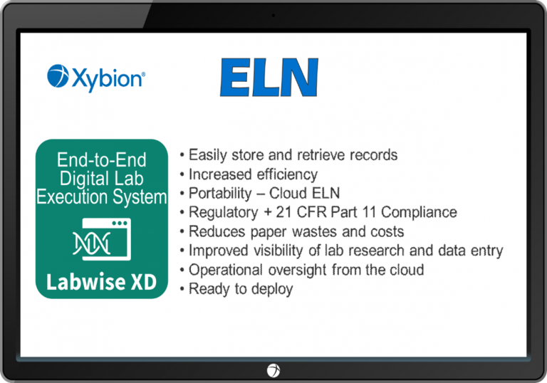 ELN from Xybion