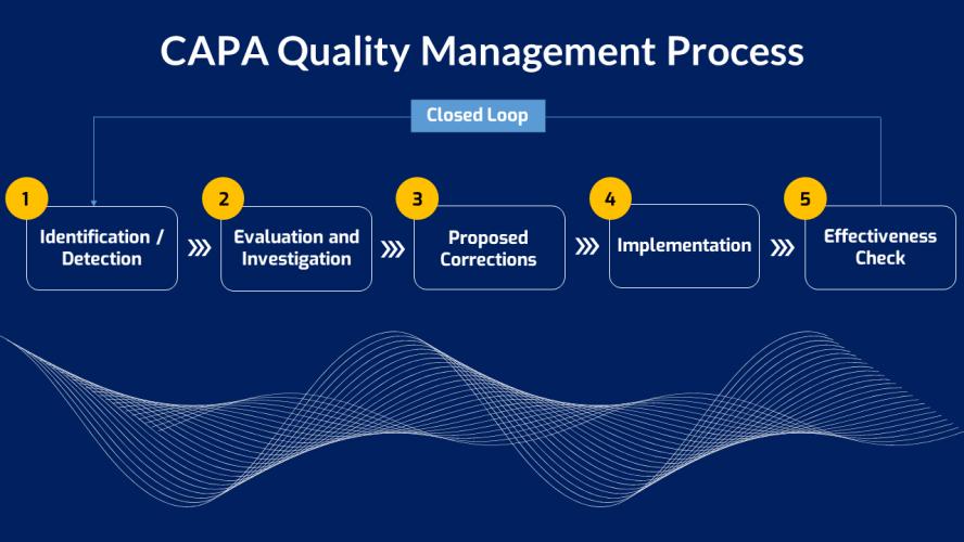 CAPA Quality Management Process